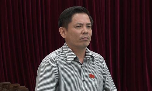 Bộ trưởng Giao thông nhận trách nhiệm khi để đường sắt nhiều yếu kém