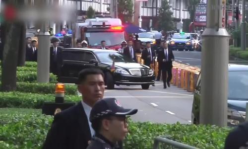 Kim Jong-un đến Singapore trước cuộc gặp với Trump
