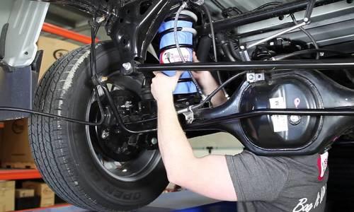 Túi khí cho giảm xóc ôtô