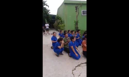 Chính quyền nói doanh nghiệp dàn dựng cho giáo viên quỳ trước mặt cán bộ