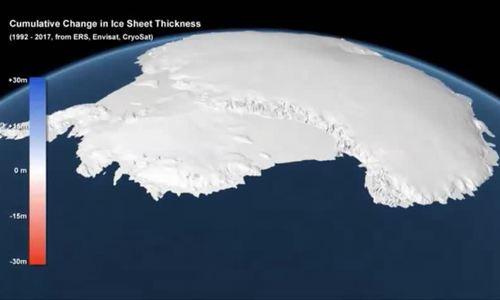 Nam Cực mất ba nghìn tỷ tấn băng trong 25 năm
