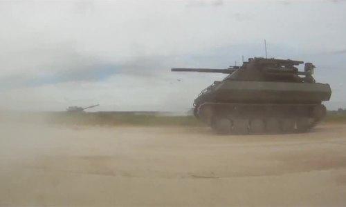 Màn thử nghiệm thất bại của robot chiến đấu Nga tại Syria