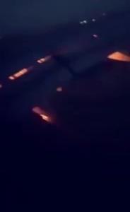 Máy bay chở đội Saudi Arabia thi World Cup cháy động cơ