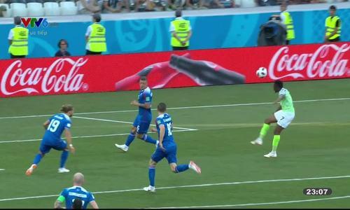 Nigeria 2-0 Iceland
