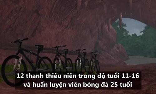 Diễn biến cuộc giải cứu đội bóng kẹt trong hang đá tại Thái Lan