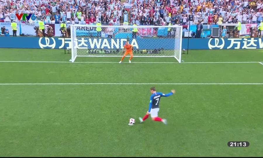 Pháp 4-2 Argentina