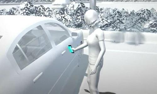 Công nghệ cho phép dùng smartphone thay chìa khóa ôtô