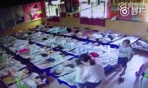 Cô giáo Trung Quốc dùng kẹp giấy hành hạ trẻ mẫu giáo