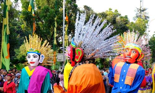 Jakarta muốn có lễ hội hóa trang quy mô lớn như ở Brazil - ảnh 13