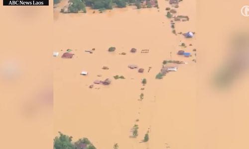 Ít nhất 20 người thiệt mạng trong vụ vỡ đập thủy điện Lào