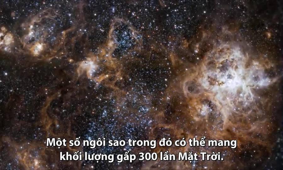 Du hành đến 'vườn ươm sao' cách Trái Đất 160.000 năm ánh sáng