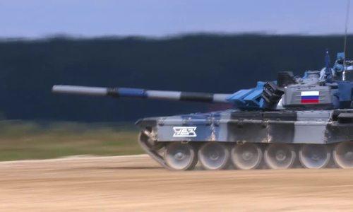 Nga lọt vào chung kết giải đua xe tăng Tank Biathlon 2018