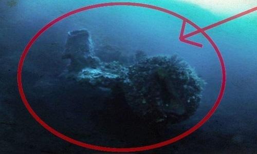 Vật thể nghi tàu ngoài hành tinh dưới tam giác quỷ Bermuda