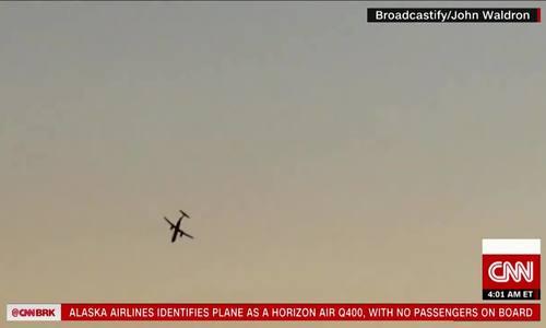 Máy bay Mỹ bị đánh cắp nhào lộn như biểu diễn trước khi rơi