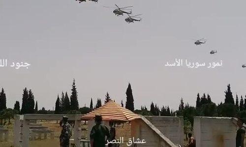Syria điều trực thăng, sẵn sàng giải phóng thành trì cuối cùng của phiến quân