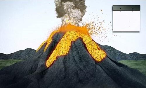 Hồ đá nóng chảy khổng lồ bên dưới siêu núi lửa Mỹ