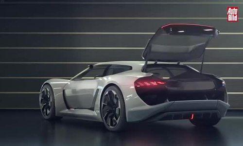 Audi PB 18 E-Tron - siêu xe điện của tương lai