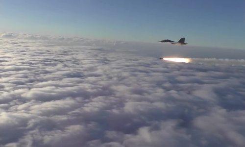 Phi đội Su-30 Nga phóng 40 tên lửa trong diễn tập hiệp đồng
