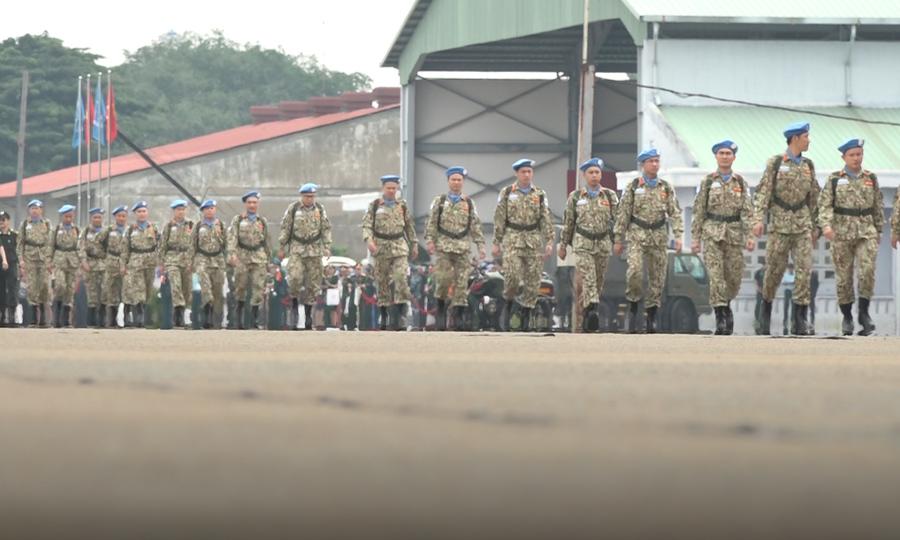 Bệnh viện dã chiến Việt Nam xuất quân gìn giữ hòa bình Liên Hiệp Quốc