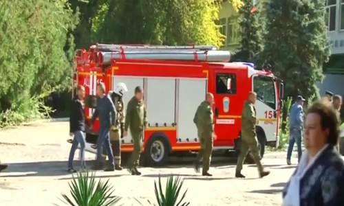 Diễn biến vụ đánh bom và xả súng trường cao đẳng Crimea