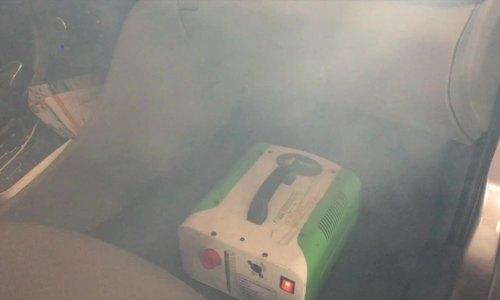 Khử mùi hôi ô tô bằng công nghệ xông hơi
