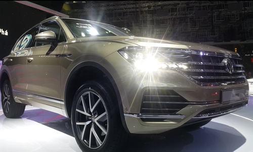 Volkswagen Touareg 2019 trình làng Việt Nam