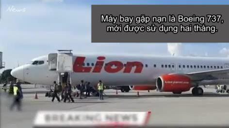 Diễn biến vụ máy bay Indonesia rơi xuống biển