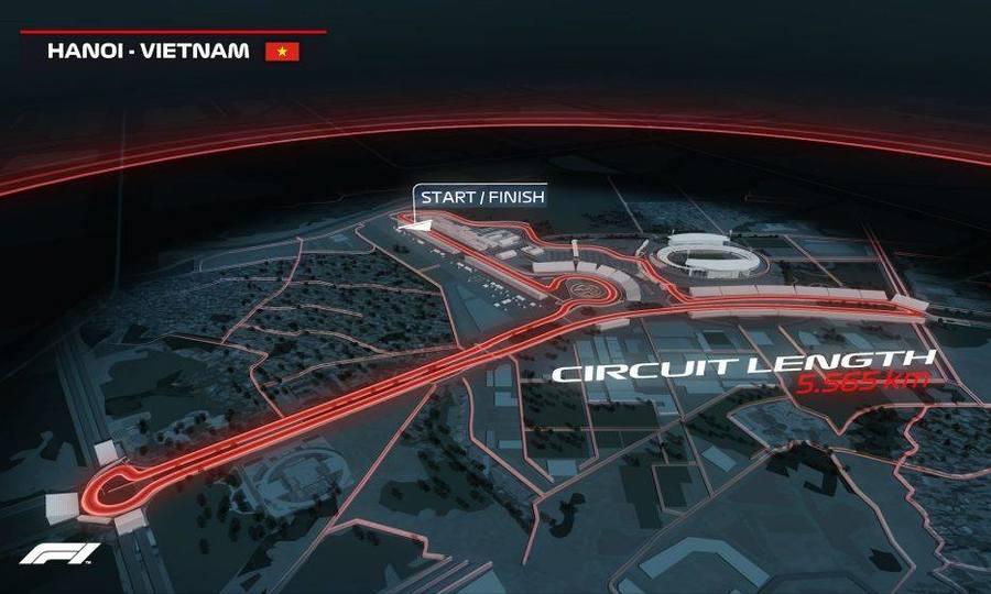 Hà Nội mở đường đua F1 tại Mỹ Đình từ 2020