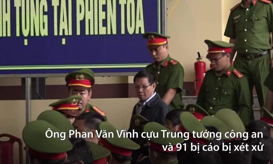 An ninh thắt chặt phiên tòa xử cựu tướng công an và đường dây đánh bạc nghìn tỷ