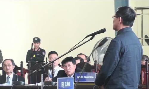 Ông Phan Văn Vĩnh nói nhận lỗi
