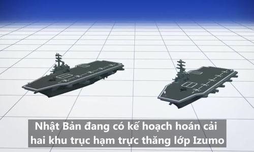 Kế hoạch biến khu trục hạm thành tàu sân bay của Nhật