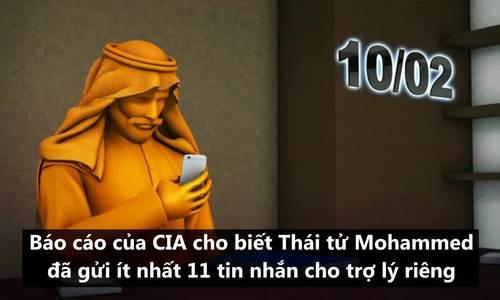 11 tin nhắn khiến Thái tử Arab bị nghi chỉ đạo giết Khashoggi