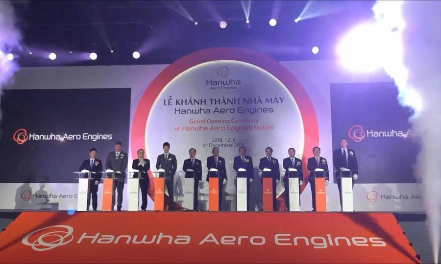 Khánh thành nhà máy sản xuất động cơ máy bay tại Hòa Lạc