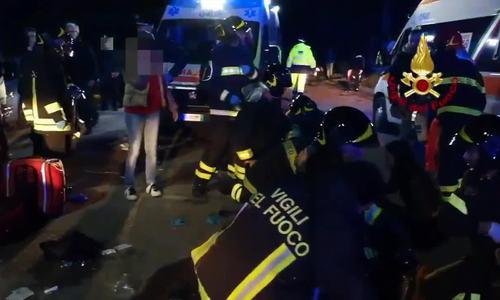 Giẫm đạp trong câu lạc bộ đêm ở Italy, 6 người chết