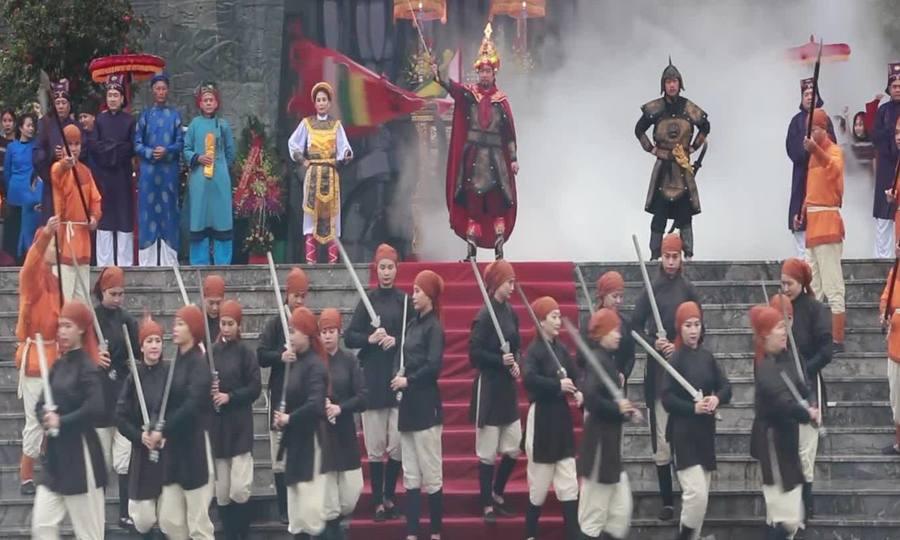 Tái hiện nghi lễ vua Quang Trung lên ngôi cách đây 230 năm
