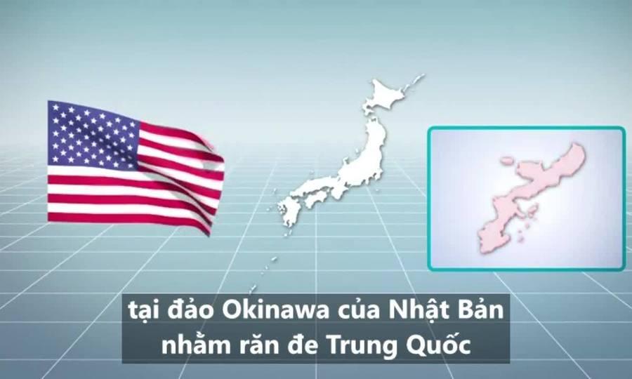 Cuộc diễn tập dằn mặt Trung Quốc của Mỹ tại Nhật