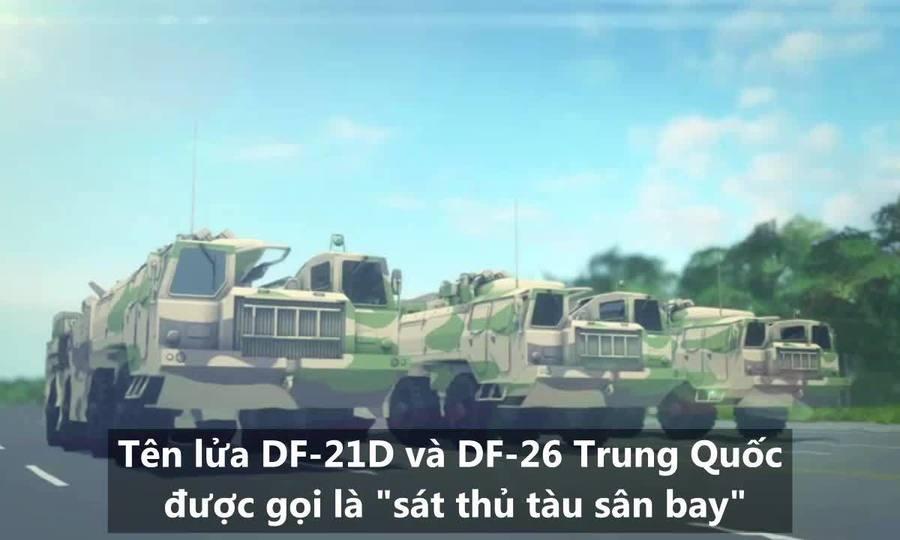 Bộ đôi 'sát thủ tàu sân bay' giúp Trung Quốc răn đe Mỹ