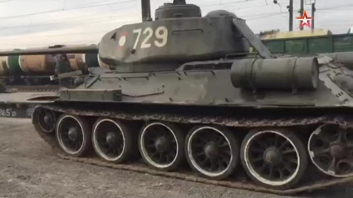Nga nhận 30 xe tăng T-34 chuyển từ Lào