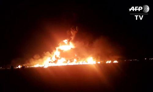 Nổ đường ống xăng ở Mexico, 66 người thiệt mạng