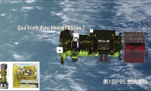 Tín hiệu đầu tiên gửi về từ vệ tinh 'made by Vietnam'