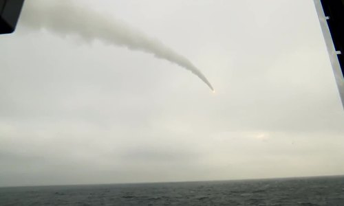 Russian Corvette Stoikiy conducts missile launch during Baltic Sea drills (video)