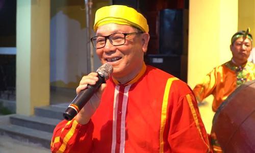 Nghệ nhân hát bài chòi ngày Tết ở Quảng Ngãi