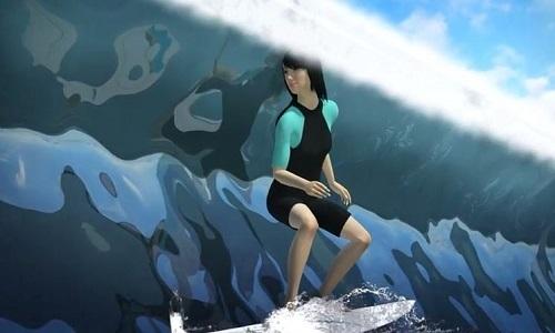 Hồ lướt sóng nhân tạo lớn nhất thế giới ở Hàn Quốc