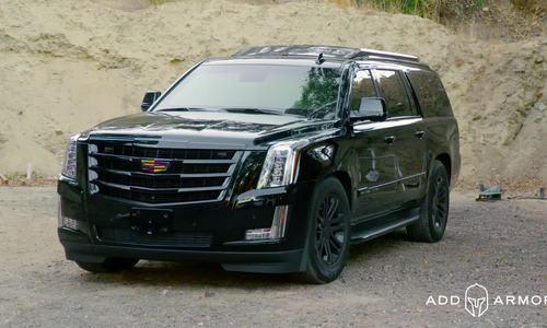 Cadillac Escalade độ chống đạn giá 350.000 USD
