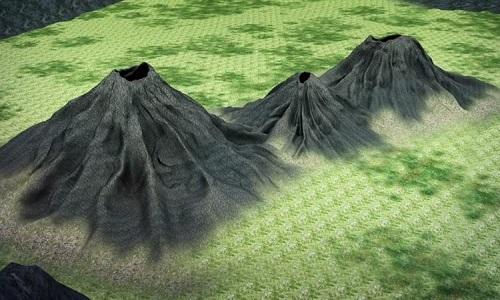 Ảnh vệ tinh hé lộ hai núi lửa thông nhau trên đảo Bali