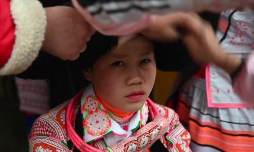 Tết của người dân tộc Miêu sừng dài ở Trung Quốc