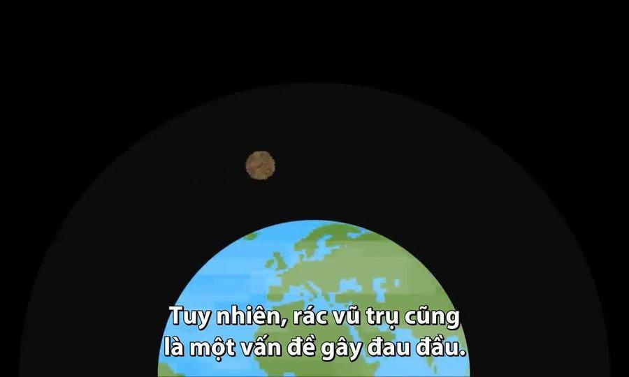 Nguyên nhân con người không thể tiêu hủy rác ngoài vũ trụ