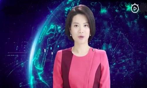 Trung Quốc ra mắt nữ MC nhân tạo đầu tiên trên thế giới