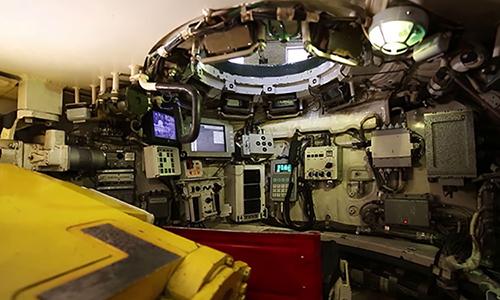 Bên trong khoang chỉ huy của xe tăng chủ lực T-90M