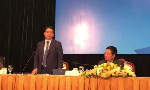 Chủ tịch Hà Nội giới thiệu quà tặng phóng viên dự hội nghị thượng đỉnh Mỹ - Triều
